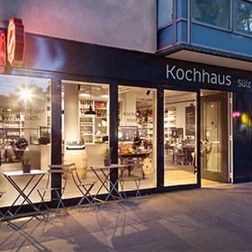 kochhaus kochkurse events. Black Bedroom Furniture Sets. Home Design Ideas